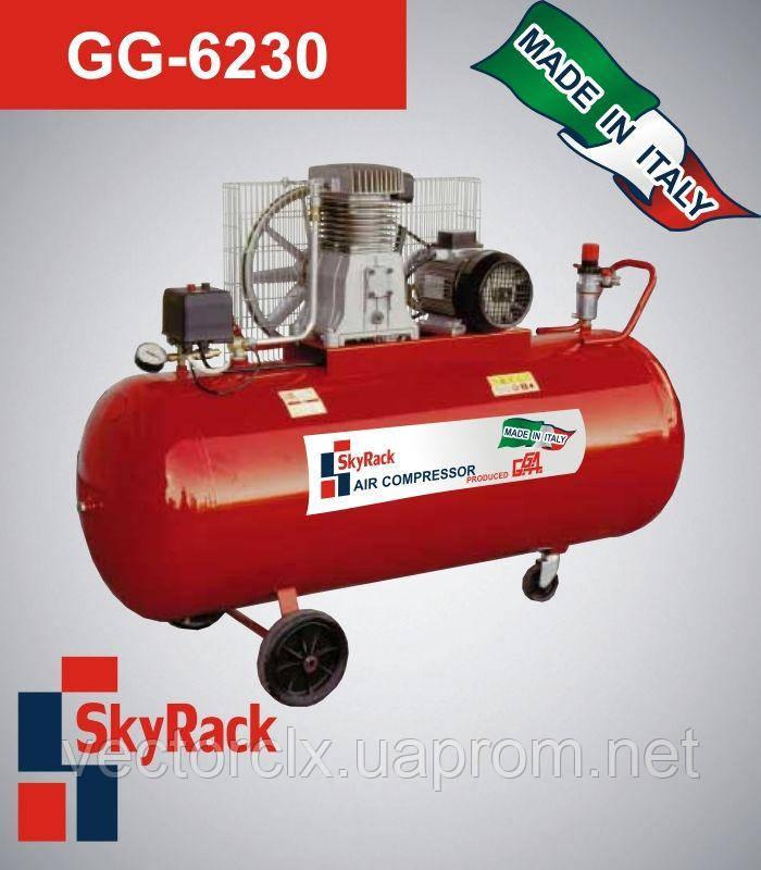 Компрессор поршневой ременной повышенного давления  15 бар  GG 6230