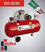 Компрессор поршневой ременной повышенного давления  15 бар  GG 6230, фото 1