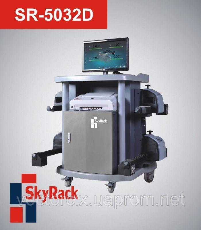Компьютерный беспроводной стенд развал-схождения  SR-5032D