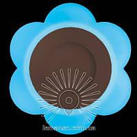 """LED панель Lemanso """"Молочная ромашка"""" 3+3W с синей подсветкой 350Lm 4500K 175-265V / LM908, фото 1"""