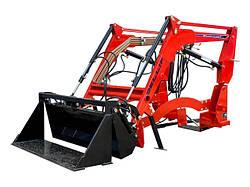 Фронтальні навантажувачі на міні-трактори