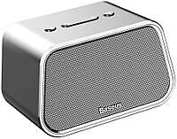 Акустическая система Baseus Encok Multi-functional wireless speaker E02 Aluminum alloy Silver (NGE02-0S)