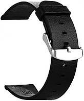 Ремешок для спортивных часов Baseus iWatch Genuine Leather Strap for Apple Watch 38mm/40mm Classic Black (CBAPWCH38-01)