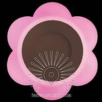 """LED панель Lemanso """"Молочная ромашка"""" 3+3W с розовой подсветкой 350Lm 4500K 175-265V / LM908, фото 1"""