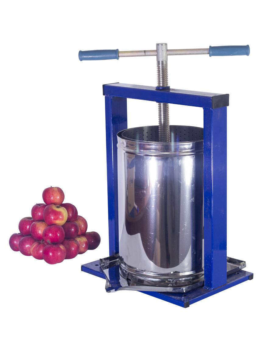 Пресс для сока Вилен винтовой 20 литров (нержавейка).