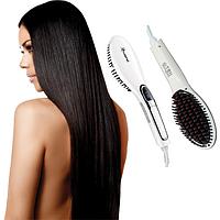 Керамическая электрорасчёска для волос Gemei GM-2993
