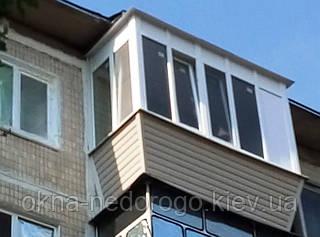 Балкон під ключ з виносом