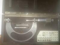 Микрометр резьбовой Carl Zeiss 50-75 (аналог МВМ 50-75 ) с вставками,возможна калибровка в УкрЦСМ, фото 1