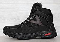 Ботинки спортивные - кроссовки зимние для мужчин на меху (Юа-11чк)