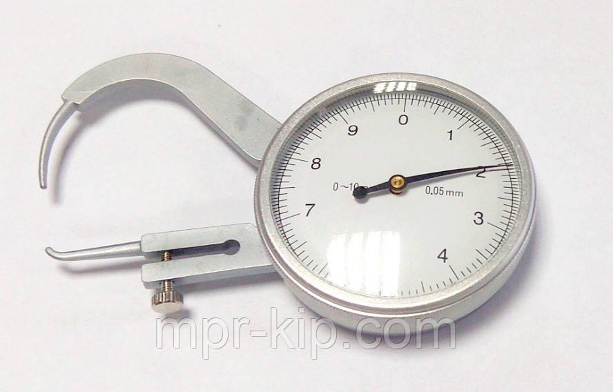 Толщиномер (стенкомер) индикаторный KM-422-105 (0-10 мм; ± 0,05 мм)