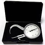 Толщиномер (стенкомер) индикаторный KM-422-105 (0-10 мм; ± 0,05 мм), фото 3
