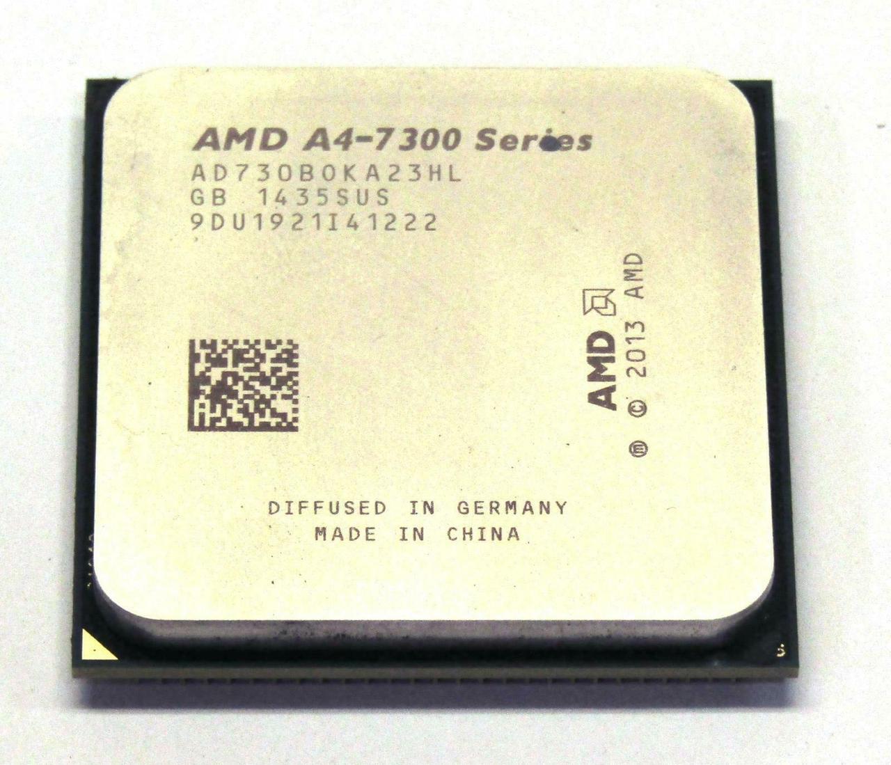 Процессор AMD A4-7300 Series 4,0-3,8GHz Socket FM2