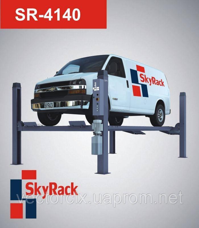 Подъемник  автомобильный четырехстоечный электрогидравлический SR-4140