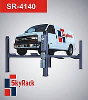 Подъемник  автомобильный четырехстоечный электрогидравлический SR-4140, фото 1
