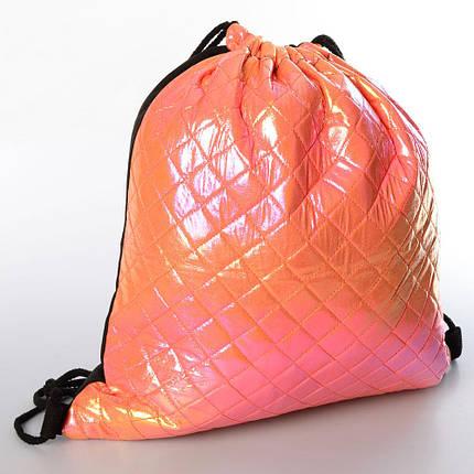 Сумка-рюкзак для обуви, 1 отделение на затяжке, 10 цветов, MK3709, фото 2