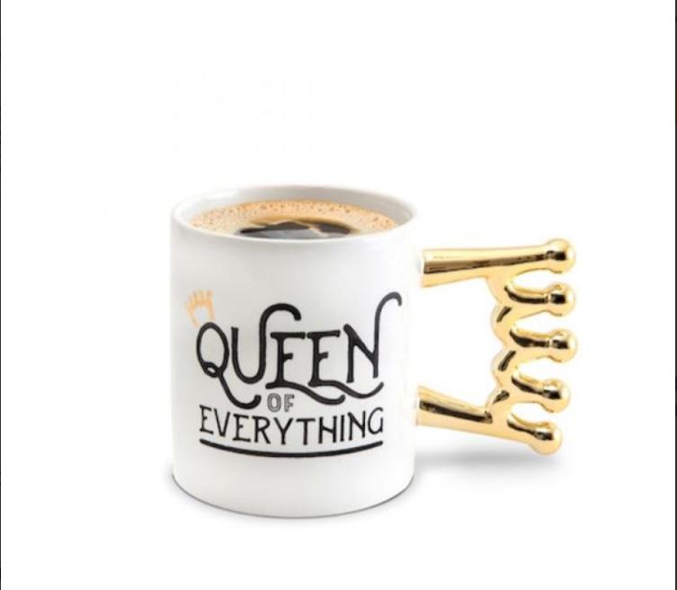Керамическая чашка Queen of everything top-720