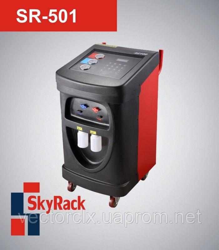 Полуавтоматическая установка  SR-501 для обслуживания кондиционеров