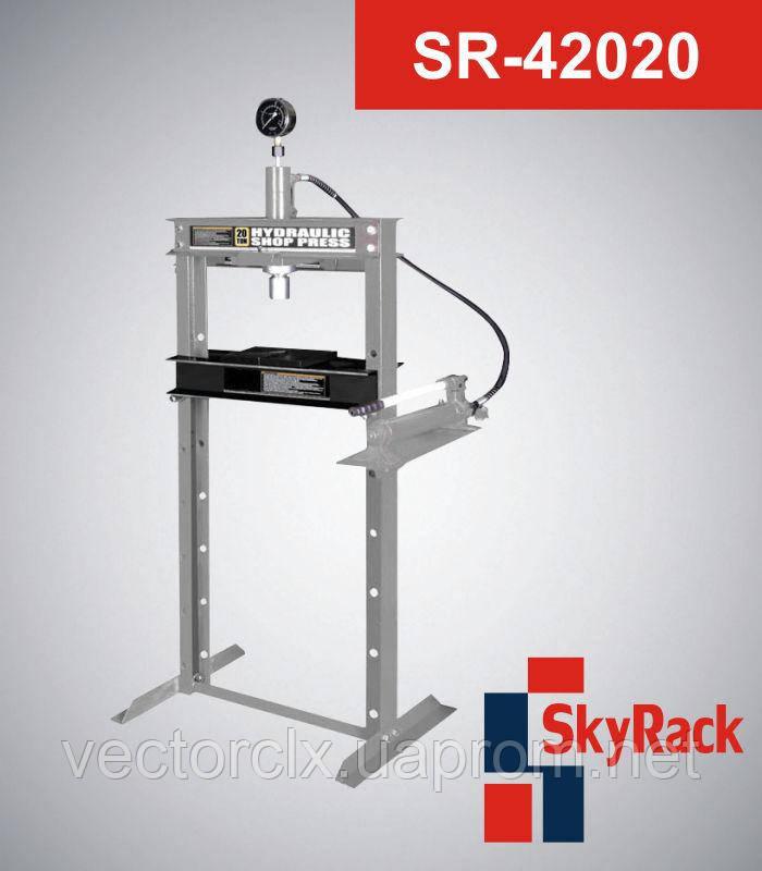 Пресс гаражный гидравлический напольный  SR-42020