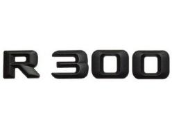 Матовая Эмблема Шильдик надпись R300 Мерседес Mercedes