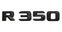 Матовая Эмблема Шильдик надпись R350 Мерседес Mercedes
