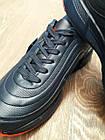 Кроссовки Bonote р.44 тёмно-синие кожзам осень/весна, фото 2