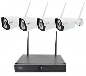 Комплект видеонаблюдения TV-6673HE-XMW (4 камеры)