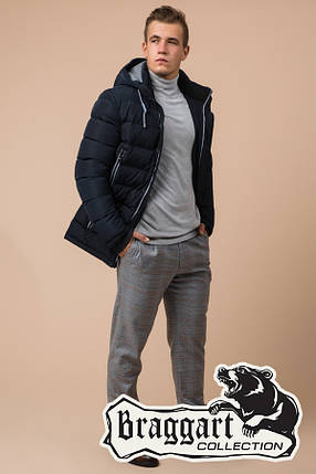 Красивая мужская зимняя куртка Braggart (р. 46-56) арт. 38828Q, фото 2