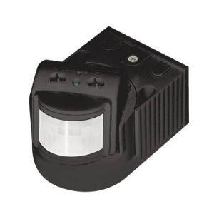 Инфракрасный датчик движения Feron LX118B/SEN8 черный до 12м 180° 1200W