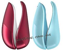 Womanizer Liberty Red/Blue клиторальный вакуумный стимулятор