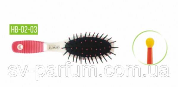 HB-02-03 Щетка массажная для волос LUXURY