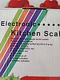 Сенсорные весы кухонные 5 кг (1г), фото 5
