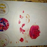Вафельная картинка на торт свадебная