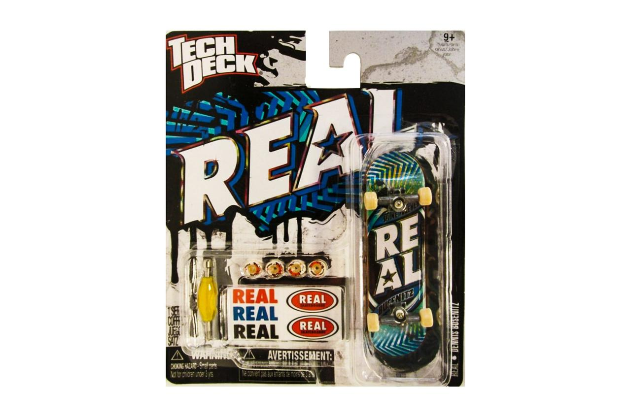 Набор фингерборд + детали Tech Deck Real Busenitz blue