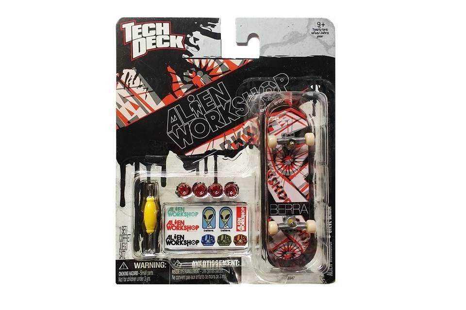 Набор фингерборд + детали Tech Deck Alien Workshop Berra