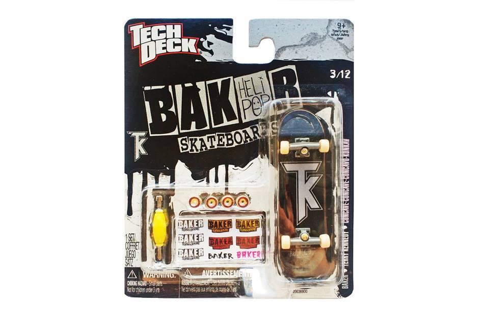 Набор фингерборд + детали Tech Deck Baker TK Black