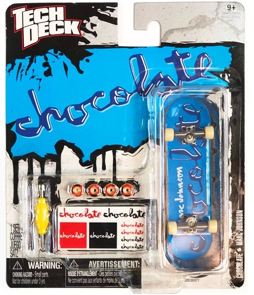 Набор фингерборд + детали Tech Deck Chocolate Blue