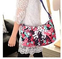 Сумка нейлоновая Jinquaer цветочный камуфляж 02001/07, фото 1