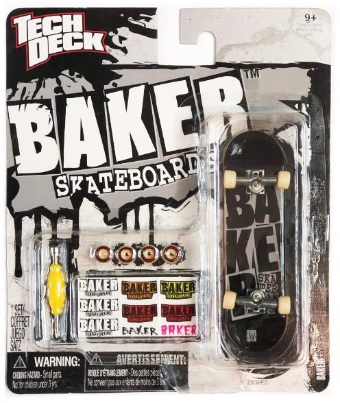 Набор фингерборд + детали Tech Deck Baker Blk Grey