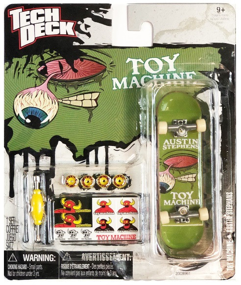 Набор фингерборд + детали Tech Deck Toy Machine Austin Stephens