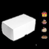 Коробка для торта КТ 0200 (3 эклера) белая 177*118*78мм (уп/25шт) (Р)