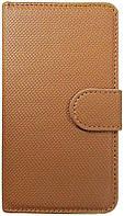 Чехол FT Leather Case Bi-Fold COFFE for Samsung Galaxy S2