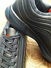 Кроссовки Bonote тёмно-синие кожзам осень/весна р.45, фото 6