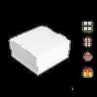 Коробка для суши СУ 0400 (1ролл) белая 100*100*50мм 25шт/уп (Р)