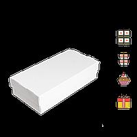 Коробка для суши СУ 0300 (2ролла) белая 100*200*50мм 25шт/уп (Р)