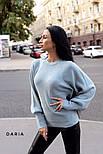 Женский базовый свитер с объемными рукавами (в расцветках), фото 5