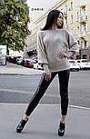 Женский базовый свитер с объемными рукавами (в расцветках), фото 7