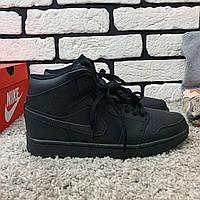 Зимние кроссовки (на меху) мужские Nike Air Jordan (реплика) 1-067 ⏩ [ 41,46 ], фото 1