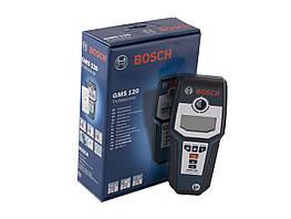 Детектор скрытой проводки Bosch GMS 120 Professional сканер