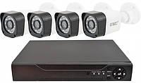 Комплект видеонаблюдения D001-4CH (4 камеры)