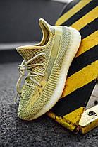 """Женские кроссовки adidas Yeezy Boost 350 V2 """"Antlia"""" FV3250 (Адидас Изи Буст 350) рефлективные шнурки, фото 3"""